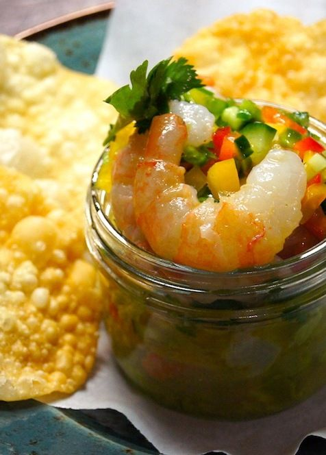 Recipe bc spot prawn ceviche from yew seafood bar four for Food bar 788