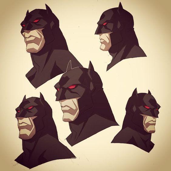 Phil Bourassa Some Batman Heads From Flashpoint Paradox 2012 Batman Flashpoint Flashpointparadox Justiceleague Dc การออกแบบต วละคร ศ ลปะ การ ต น แบทแมน