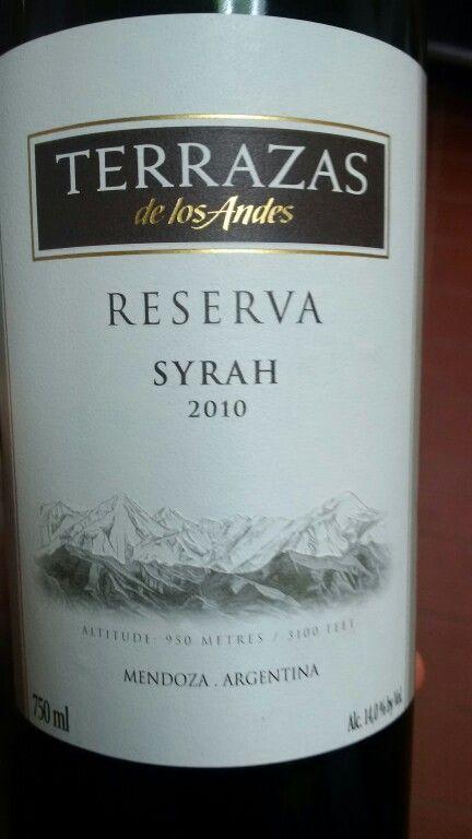 Terrazas De Los Andes Mendoza Argentina Wine Bottle Bottle Wine