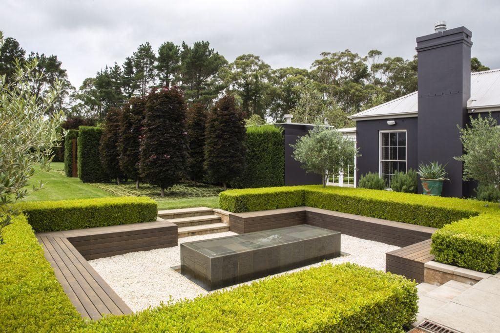peter fudge formal garden seating