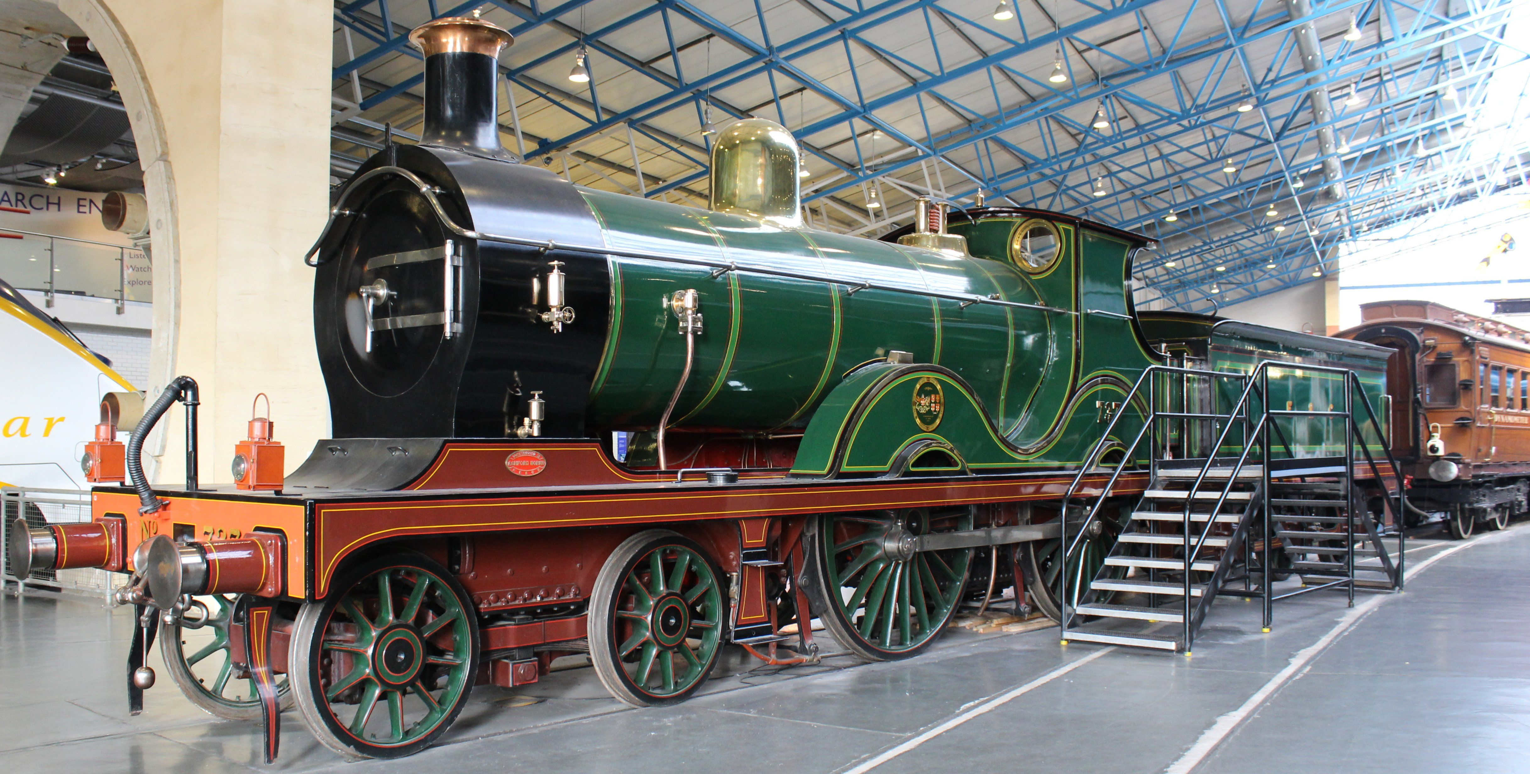 the national railway museums d class number 737 of 1901 is the last survivor of a