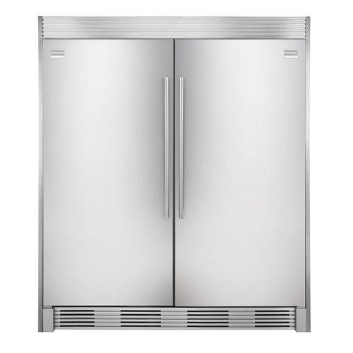 Frigidaire Stainless Steel Refrigerator With Duo Trim Kit