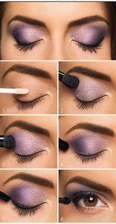 Purple Eye Makeup – Makeup | Dessertpin.com  Purple Eye Makeup #Eye #Makeup #Pur…
