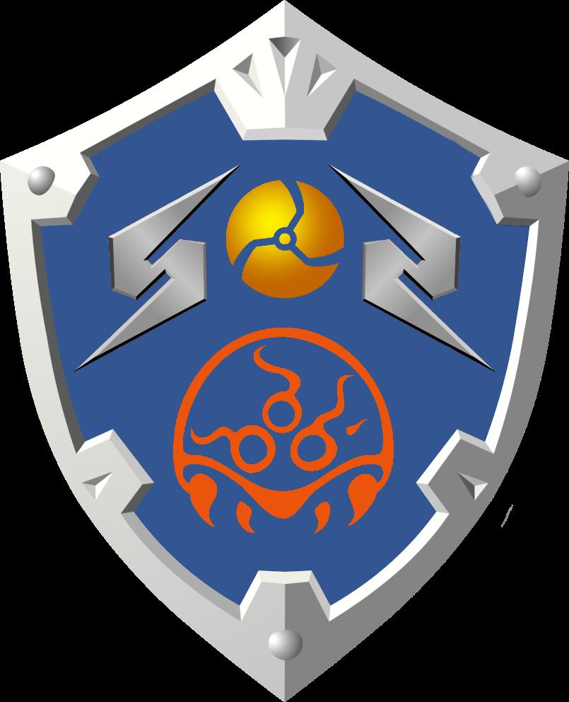 Metroid Zelda Shield Metroid