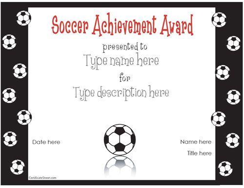 Soccer awards for the kids sports pinterest soccer stuff team mom and kids soccer for Soccer award ideas