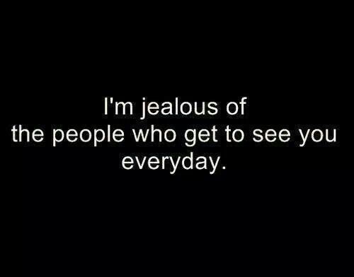 Couple Quotes : Jealousy Quotes: Jealousy Quotes: Jealousy Quotes: I'm jealous of the people who get to see y... - The Love Quotes   Looking for Love Quotes ? Top rated Quotes Magazine & repository, we provide you with top quotes from around the world