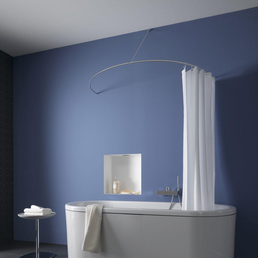 archello round shower curtain rod
