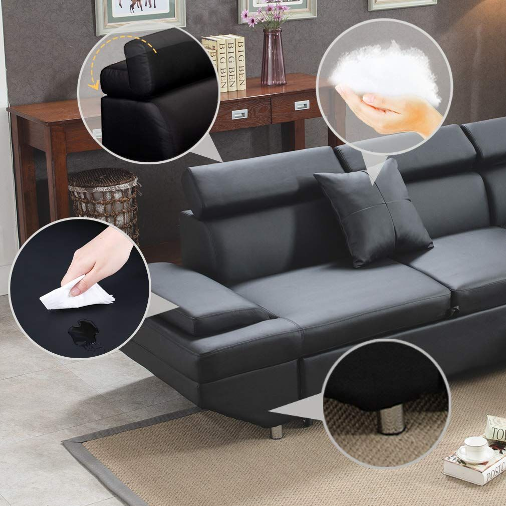 Top Five Softest Sectional Sofa Buying Guide Living Room Sets Furniture Sectional Sofa Corner Sectional Sofa