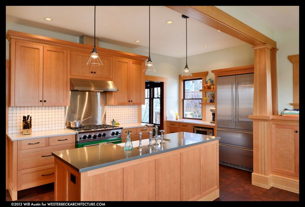 Respectful contemporary kitchen remodel to 1912 Seattle home ...