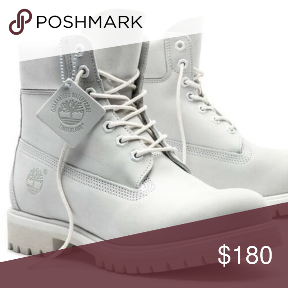 TIMBERLAND LIMITED EDITION WHITE BOOTS