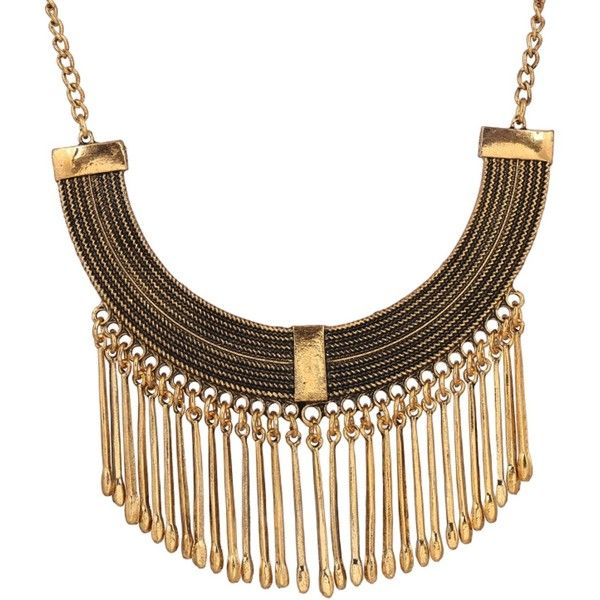 Ruby Rocks Accessories Multi Drop Necklace ($16) ❤ liked on Polyvore featuring jewelry, necklaces, neutral and drop necklace