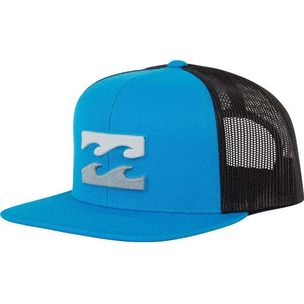c11120f7fd4 Billabong Unisex All Day Trucker Hat ( 27) ❤ liked on Polyvore featuring  accessories