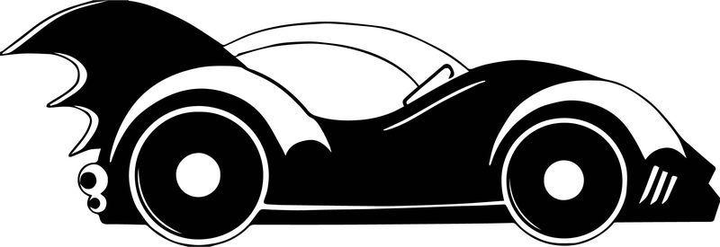Batman Cute Oh My Fiesta For Geeks Car Coloring Page