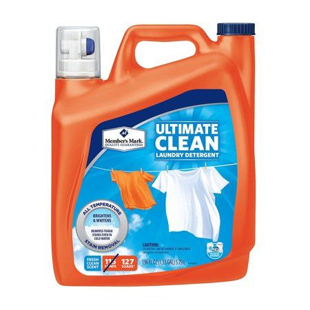 Member S Mark Ultimate Clean Liquid Laundry Detergent Fresh Clean