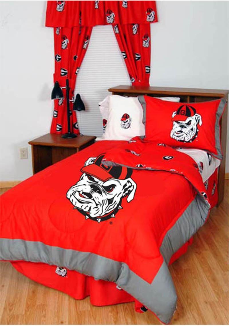 Bulldogs bedinabag set college comforter sets