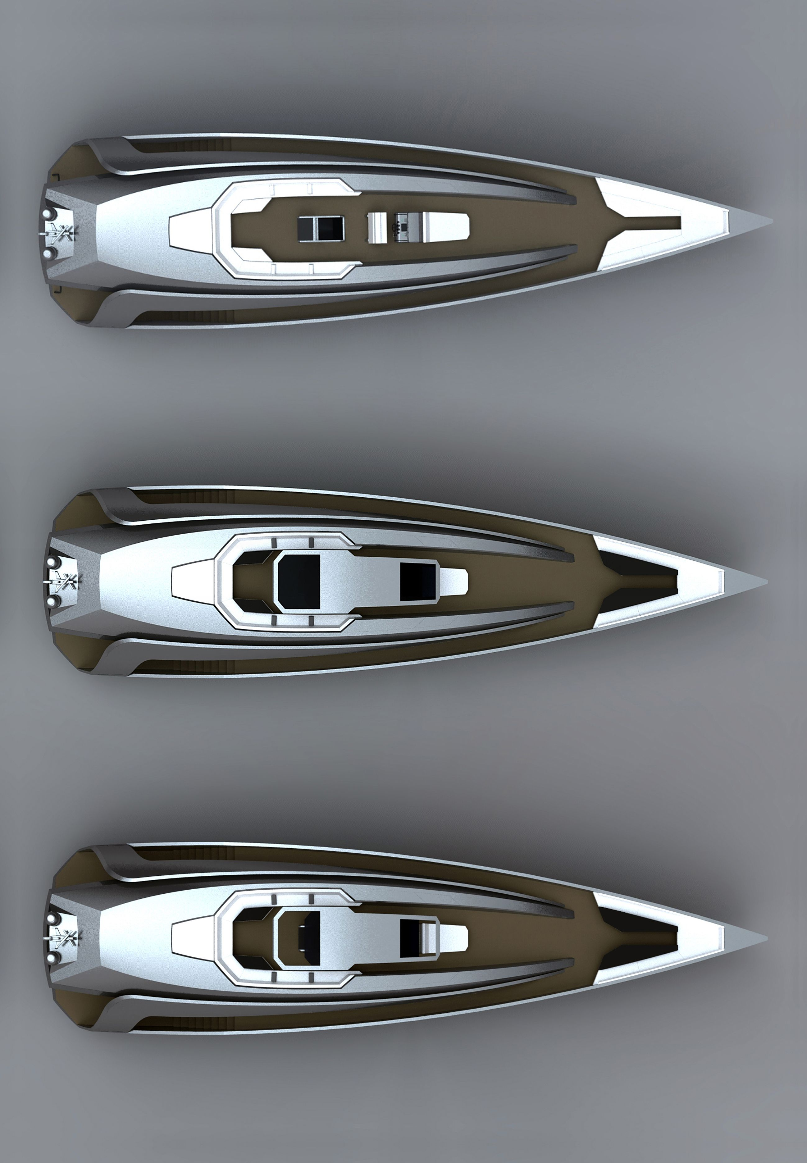 33 meters Yacht project by Ubica-id #Yachtdesign  #Yachtconcept #Barcelona