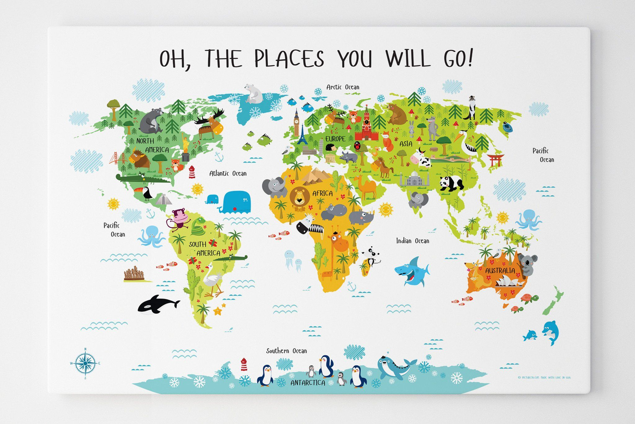 kids world map, Children's world map canvas, unique first ... on glider map, statue map, inverted map, glass map, go to the map, palace map, border map, magnetic map, large map, world map, trench map, floor map, desk map, plant map, plate map, atlas map, home map, green map, englewood map, step map,