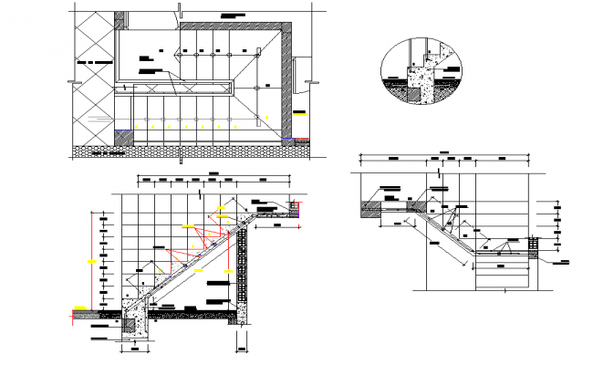 Stair Plan And Section Detail Dwg File Stair Plan How To Plan Stairs
