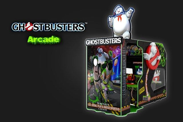 Arcade Dave Busters Ghostbusters Game