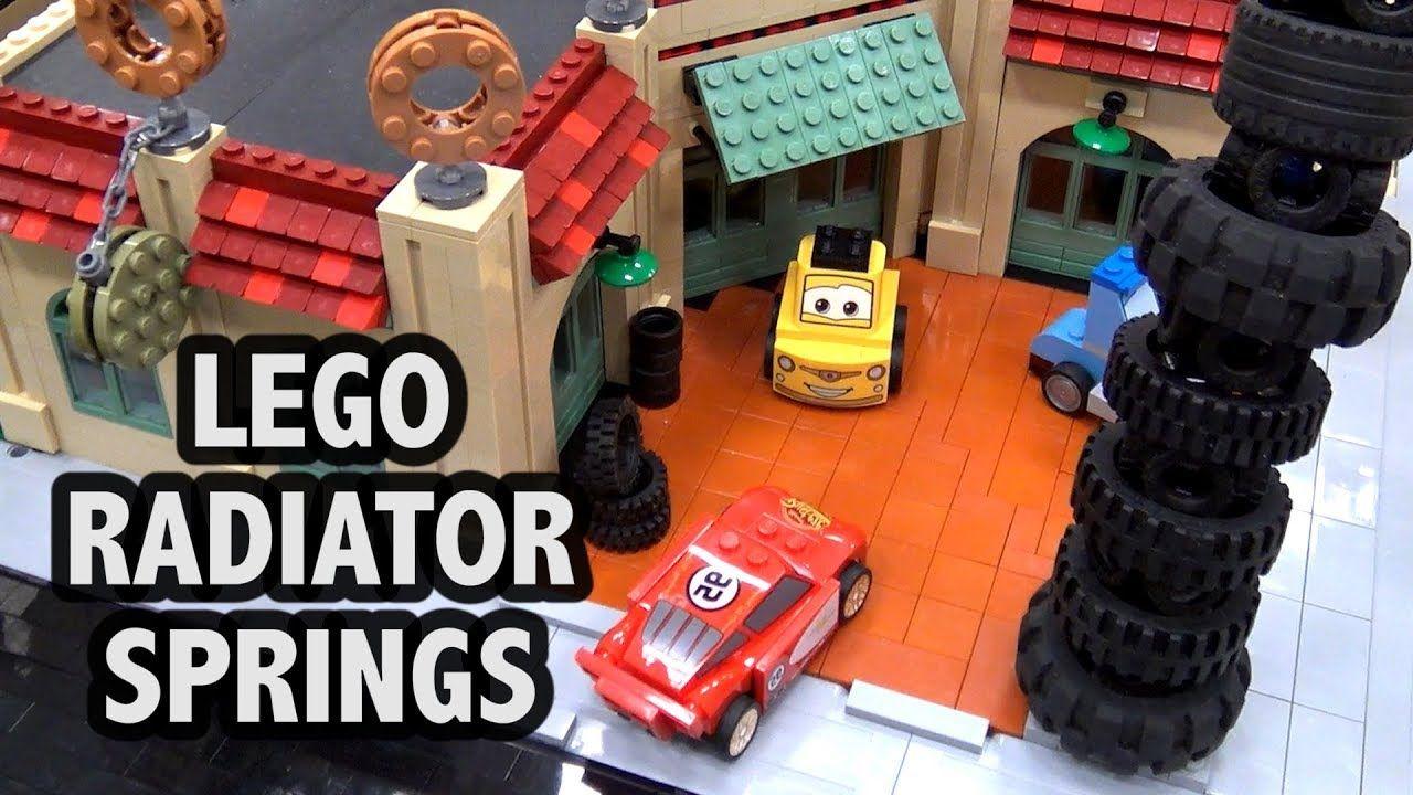Huge LEGO Radiator Springs City from Cars Movie Radiator