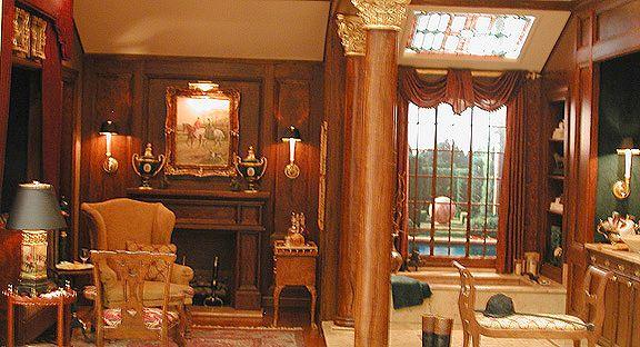The equestrian spa by whitledge burgess llc interior for Hispano international decor llc