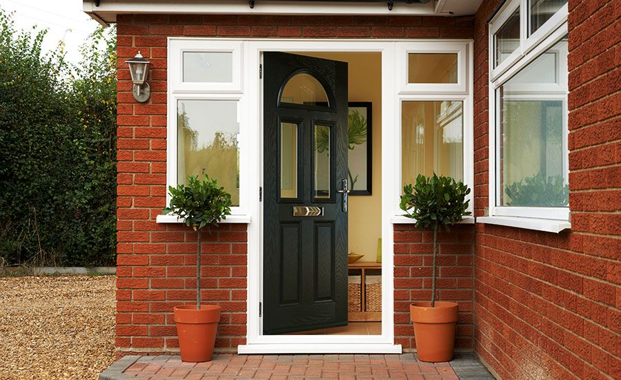 Stylish secure u0026 affordable Front u0026 Back Doors for your home. All our doors come with a 10 year guarantee. Get a free quote today! & Chelmsford GRP door | Delectable doors | Pinterest | Grp doors ... pezcame.com