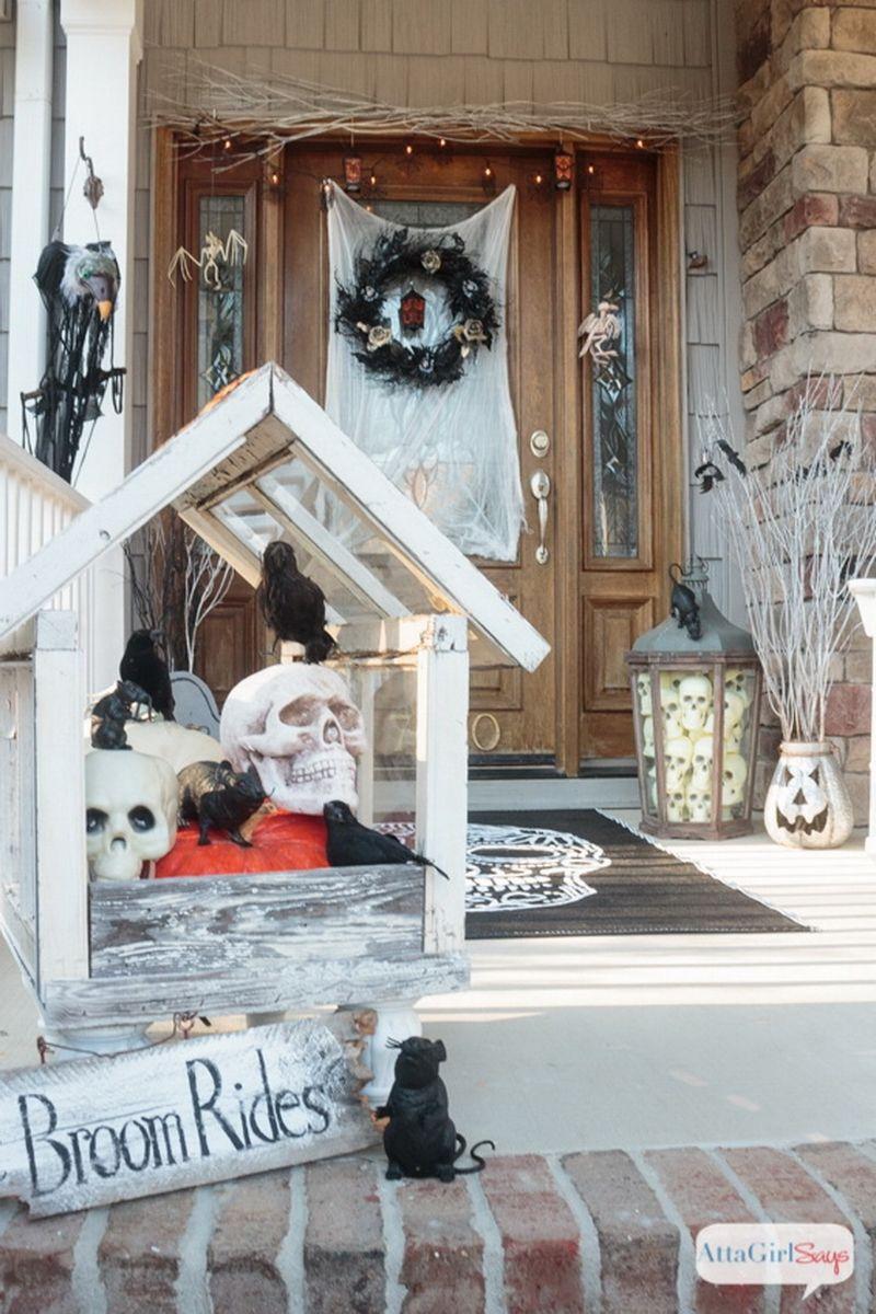🎃 18 Stunning Halloween Front Porch Decration Ideas  Idée de