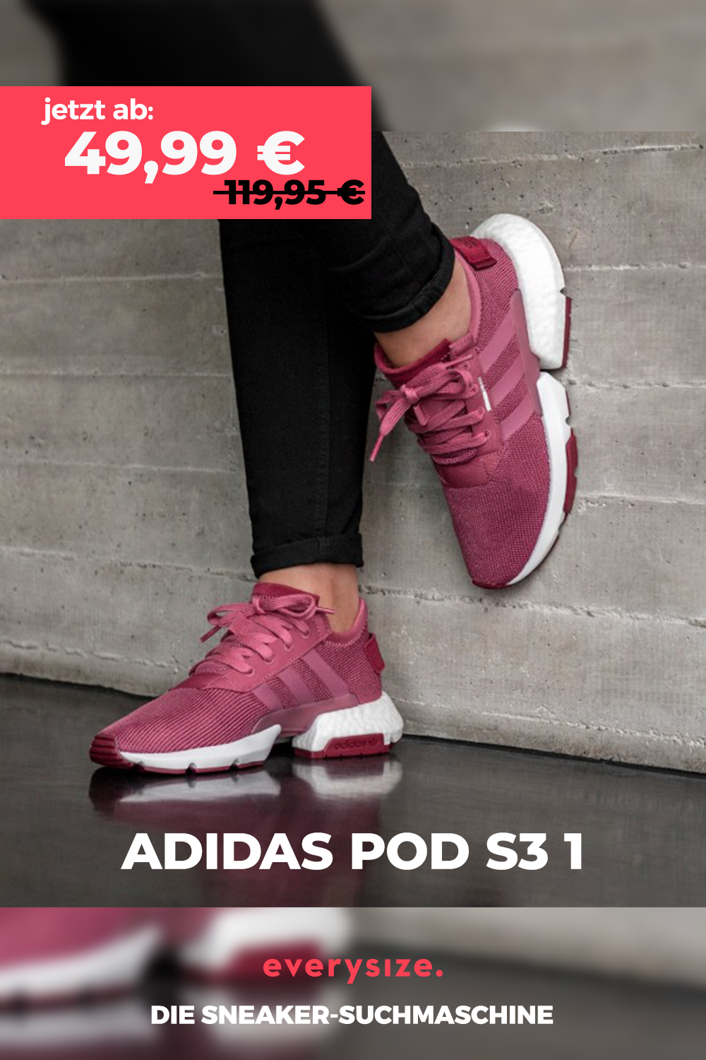 adidas Originals POD S3 1 in pink B37508 in 2020 | Adidas