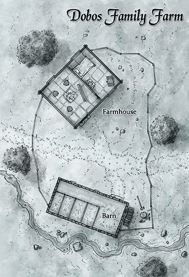 Fantasy dwarven farm map for tarot based rpg | Cartography in 2019