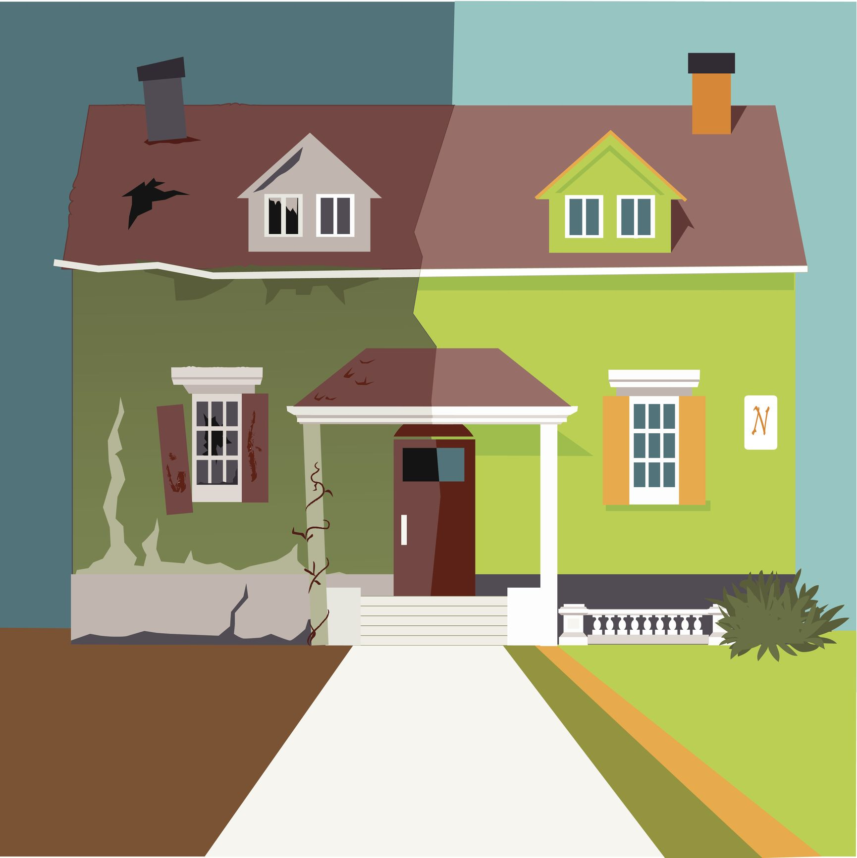Home flipping soars in the District and Maryland House