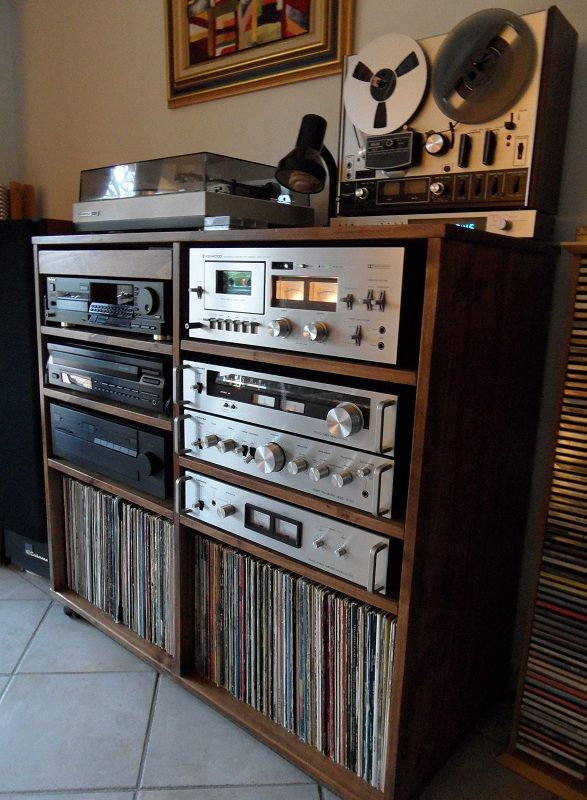 Classic Setup Like My Dads Private Spaces Stereo