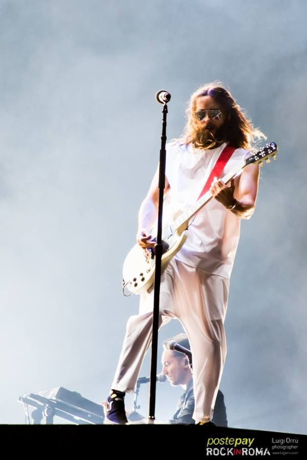 30 seconds to mars live in rome Rome, june 20 th 2014 official photographer: Luigi Orru http://www.luigiorru.com/
