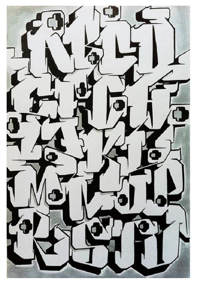 29 Amazing Graffiti Alphabet Letters By Artists
