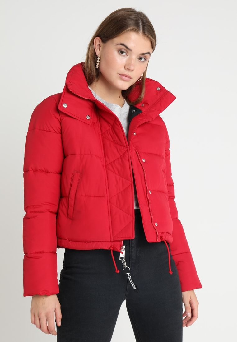 Hollister Co Fashion Puffer Winter Jacket Red Zalando De Winter Jackets Red Jacket Winter Jackets [ 1100 x 762 Pixel ]