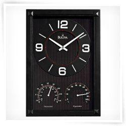 Bulova Concept Wall Clock 9w X 12 75h In Wall Clock Modern Wall Clock Clock