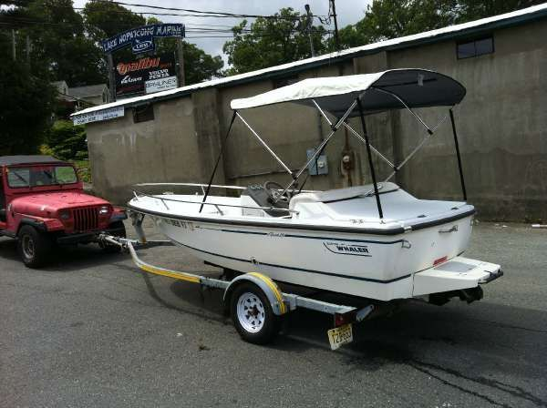 15' Boston Whaler 1995 RAGE, Boat includes trailer, 115hp