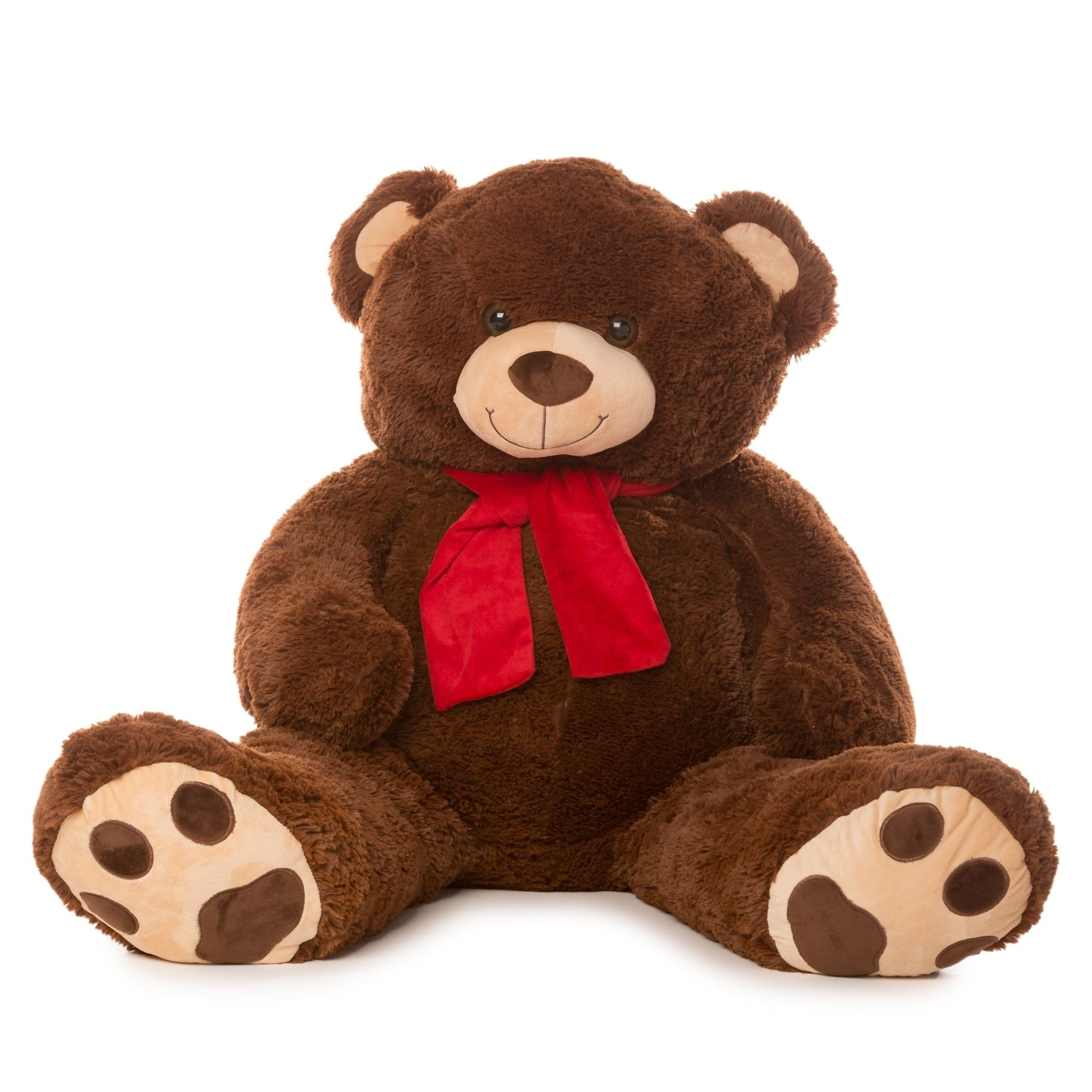 Best Made Toys 50 Bear with Scarf Giant Plush Animal Over 4 feet