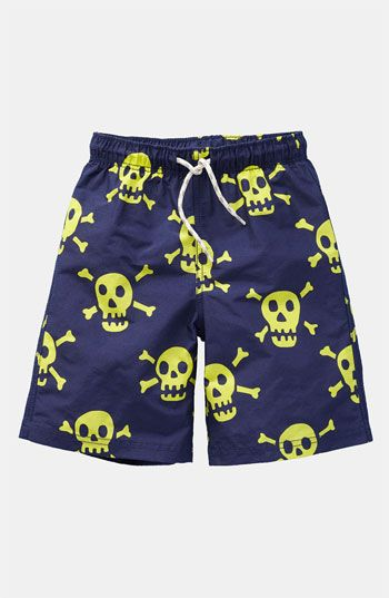 16e81c3ce6 Not too scary Skull Board Shorts from mini boden. SOOO obsessed with the  Boden children's line!!