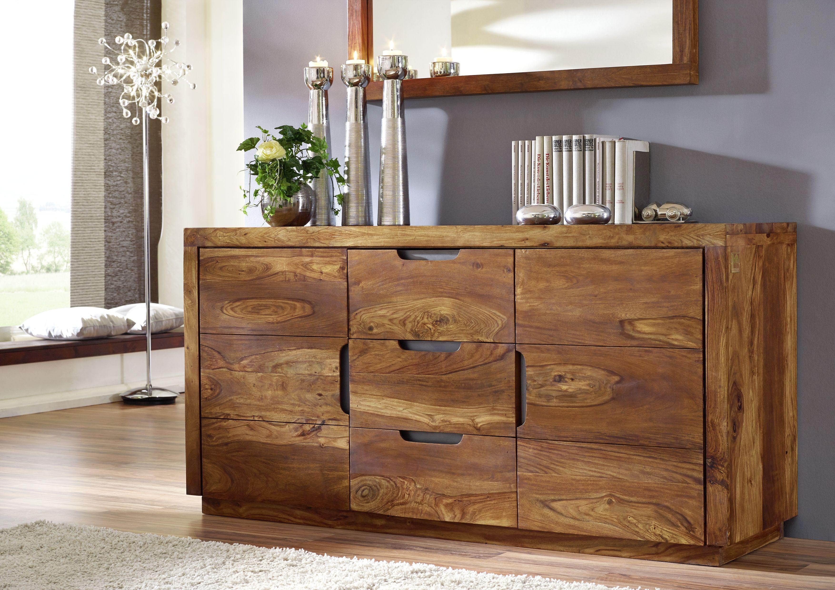 Vollholzmbel Sheesham Palisander lackiert  DUKE  prueba  Wood furniture Furniture Wooden