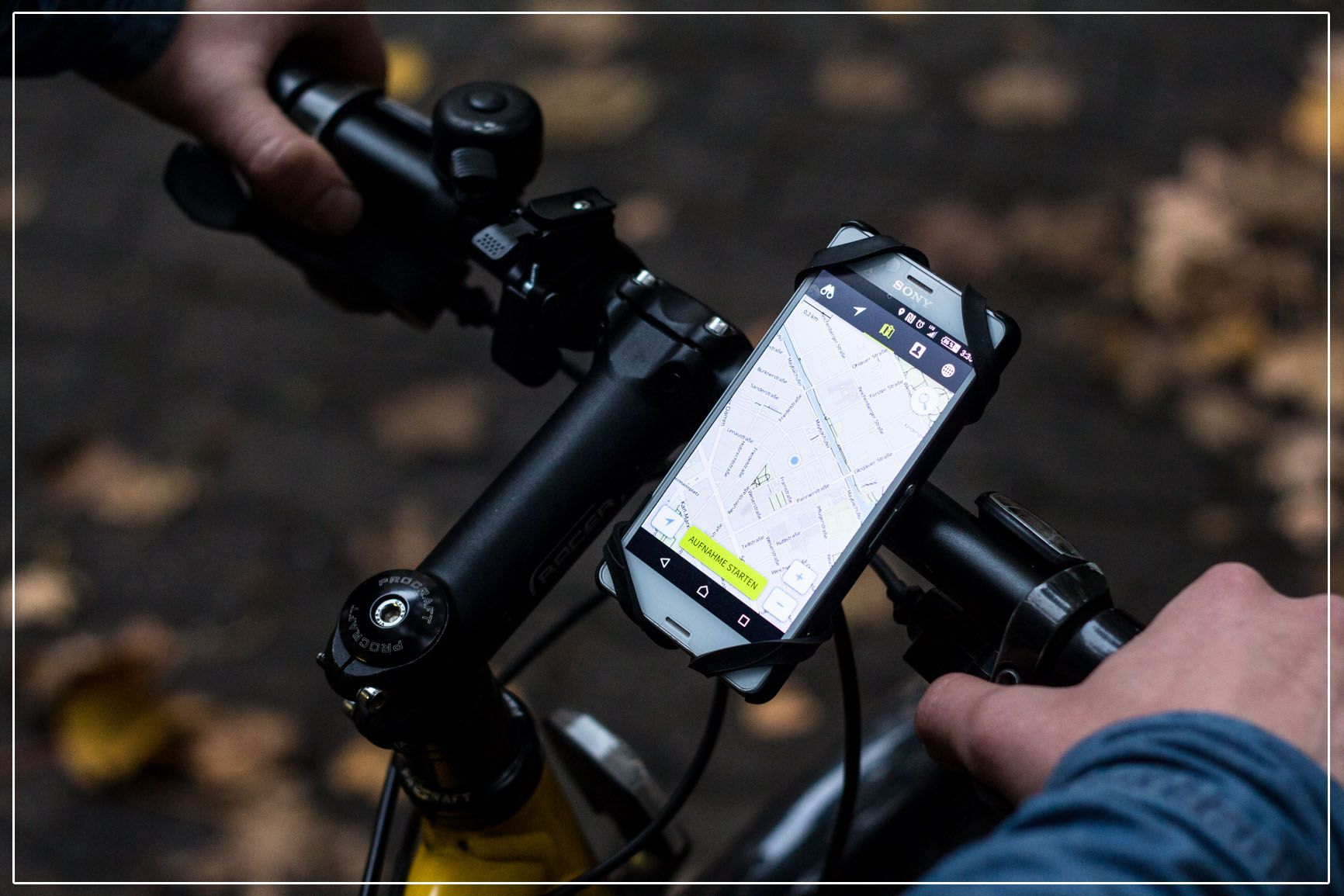 You Need Both Hands To Ride Your Bike The Rubberman Is The Solution If You D Like To Use Your Mobile Phone For Navigation While You Cycle Upcycling Trac