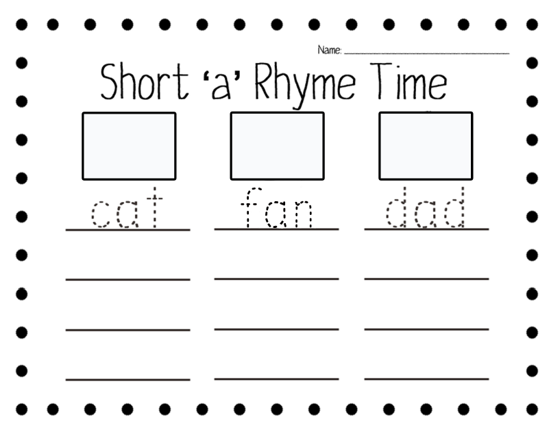 short vowel rhyme worksheets rhythm rhyming poetry etc pinterest short vowels and. Black Bedroom Furniture Sets. Home Design Ideas