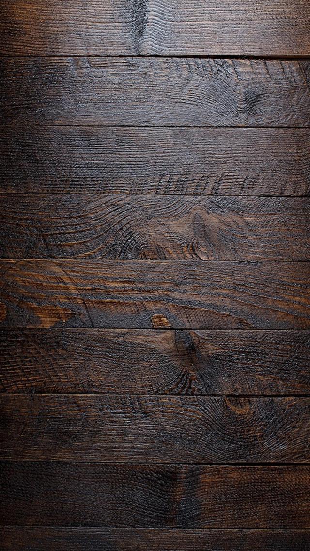 Wooden Wall Simple Basic Lockscreen Wallpaper