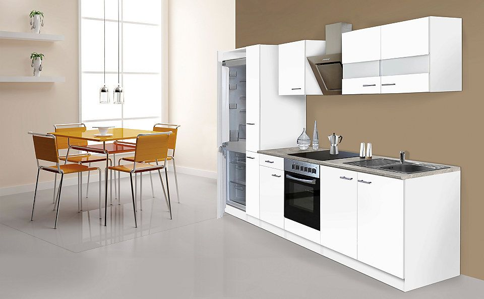 RESPEKTA Küchenzeile mit E-Geräten »Ibiza«, 300 cm Jetzt bestellen - küchenzeile 160 cm