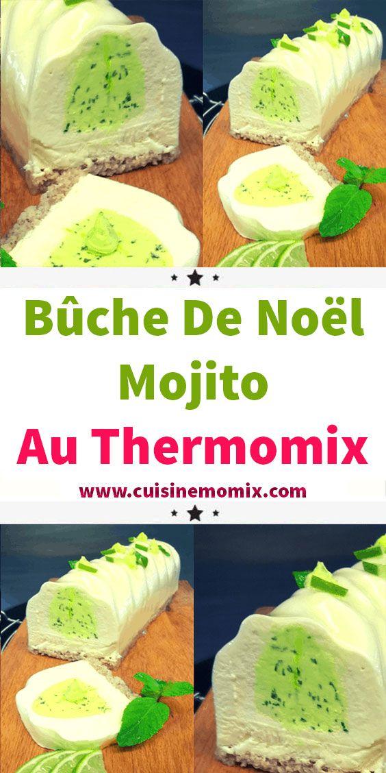 Bûche De Noël Mojito Au Thermomix En 2020 (avec Images