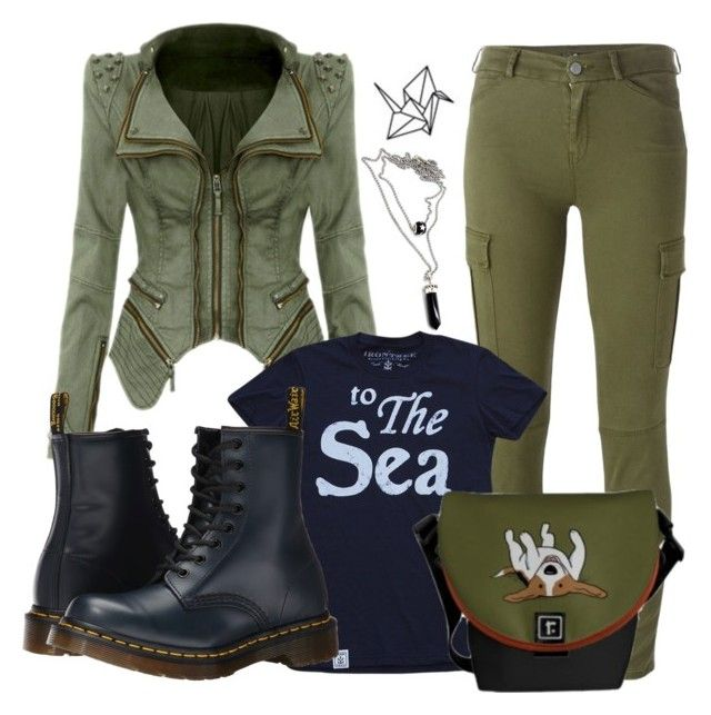 """""""Character"""" by cottibun ❤ liked on Polyvore featuring 7 For All Mankind and Dr. Martens"""