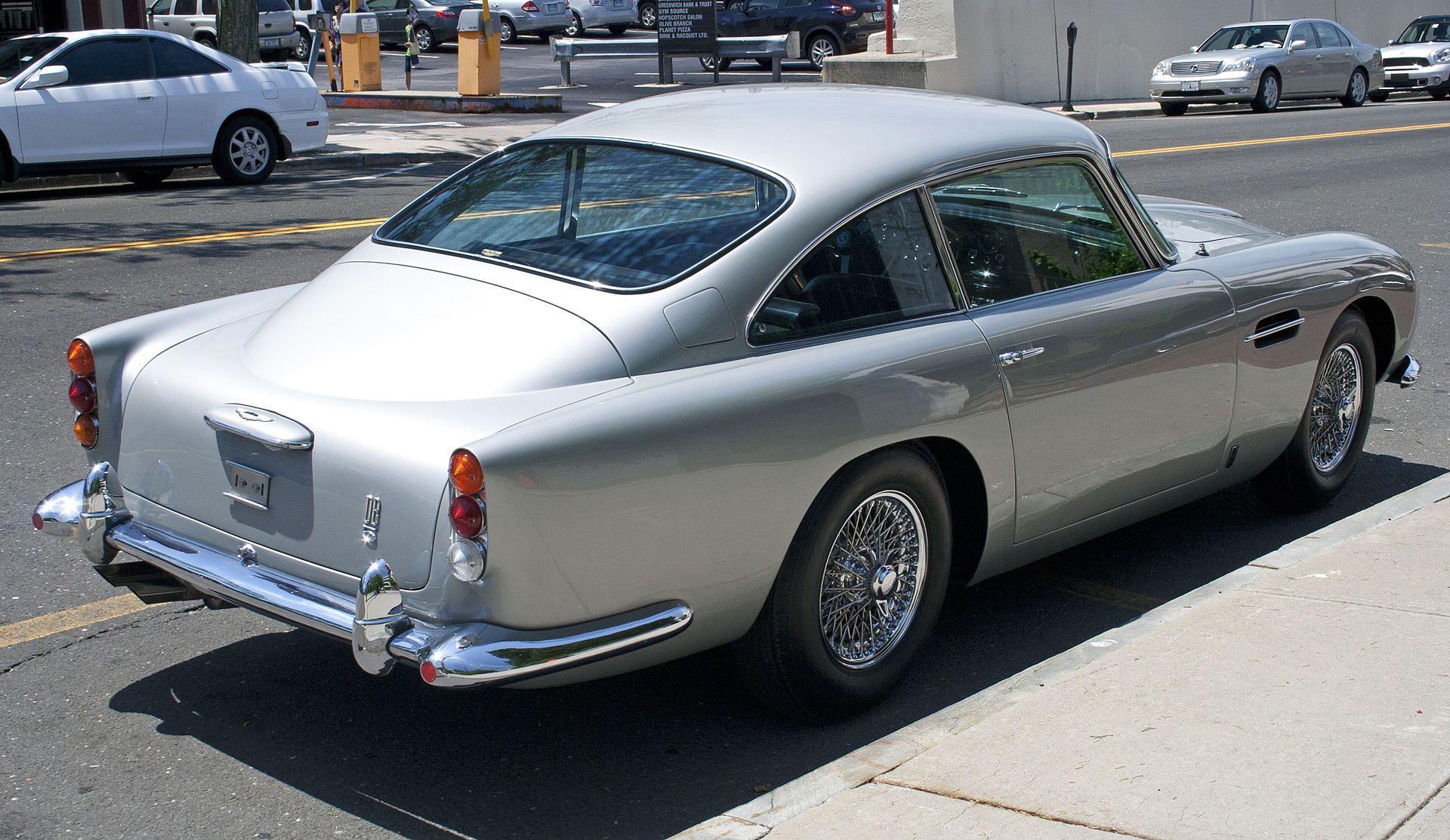 am db5 rear - aston martin db5 - wikipedia, the free encyclopedia