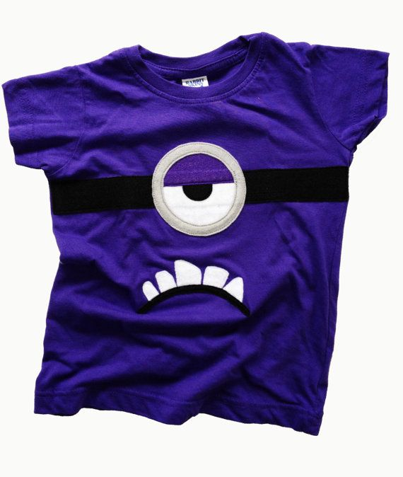 One Eye Purple Monster T-shirt Totally Minion Inspired in ...