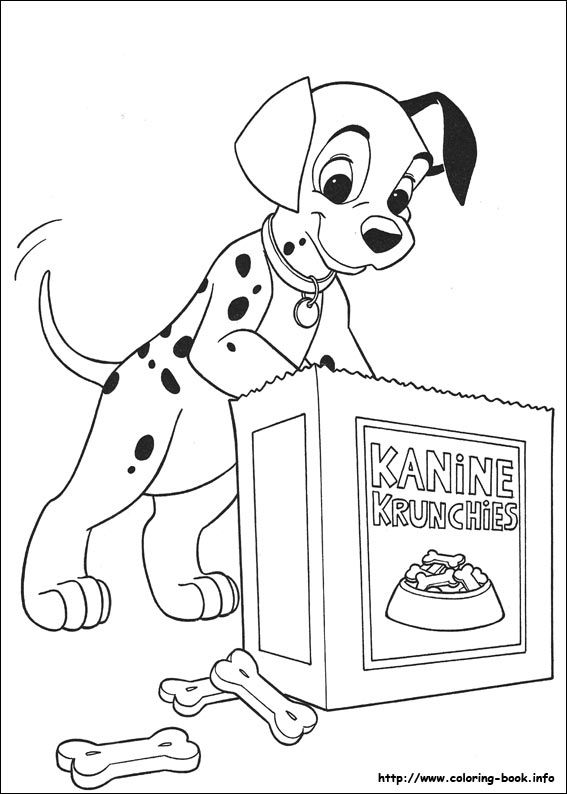 101 Dalmatians Coloring Picture Disney Coloring Pages Coloring