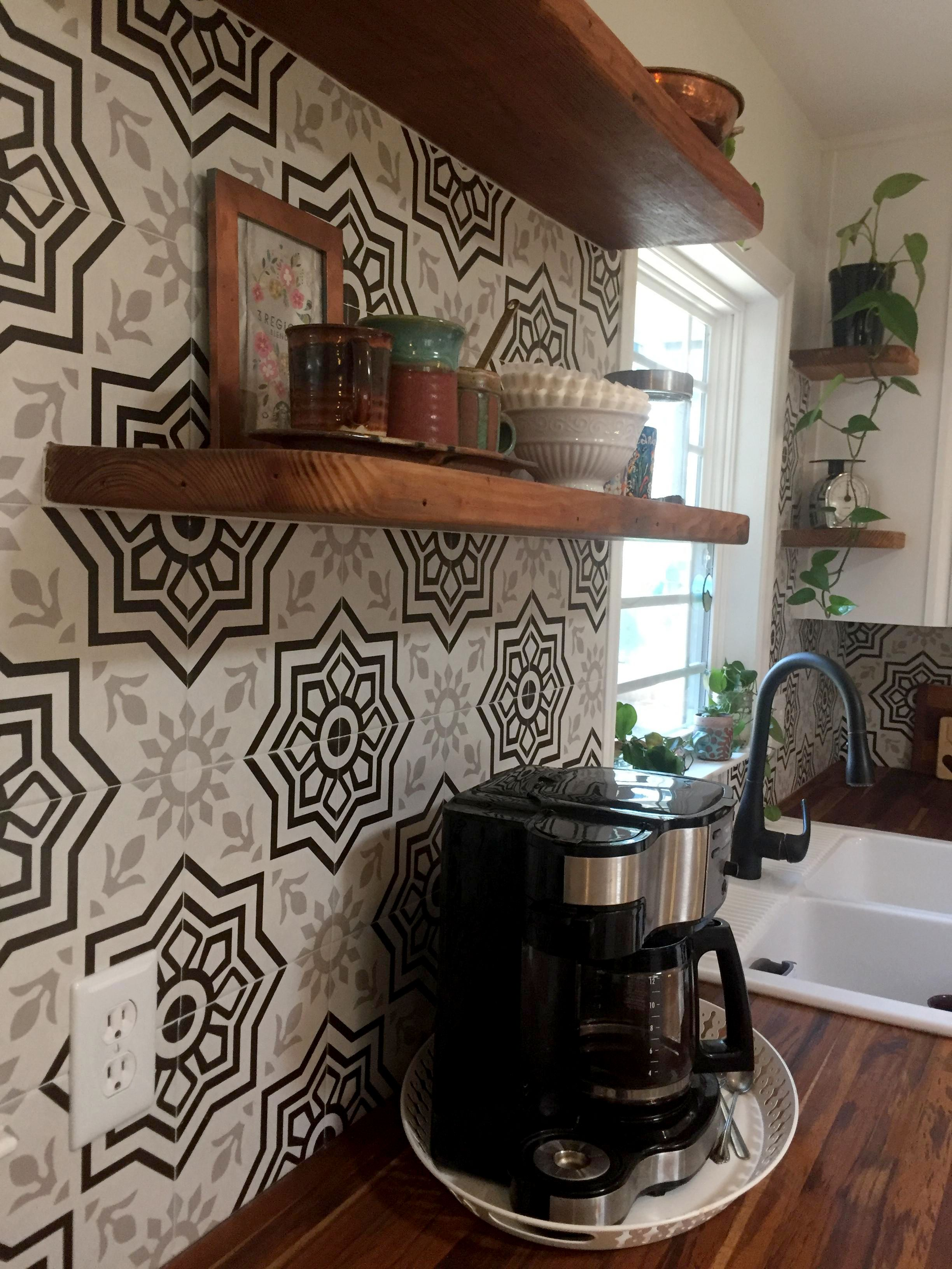 Photo Contest Kitchen Remodel Sent In By Carly C Of Raleigh Nc I Used The Bien Ceramic Tile They Loo Prairie Style Windows Ceramic Tiles Home Improvement