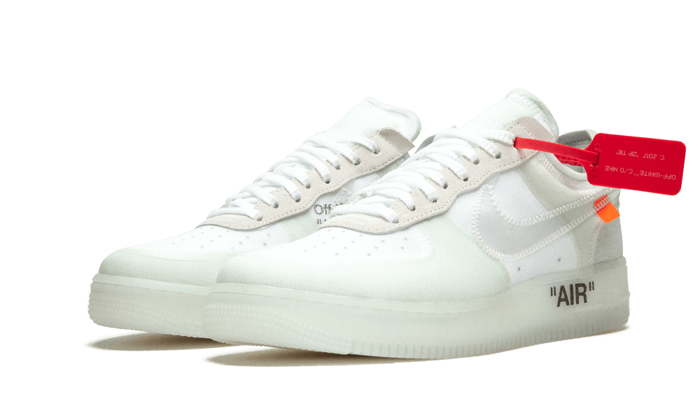 Limited Off White x Nike Air Force 1 Low Ghosting men and